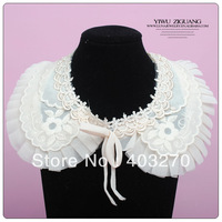 Fashion Accessories Female Vintage False Joker Sweet Shawl Collar Necklace Lace Collar Necklace Jewerly Free Shipping