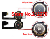1000pcs/lot Genuine Original New Home Button Flex Ribbon Cable for iPhone 4 Repalcement Part Wholesale Free DHL EMS