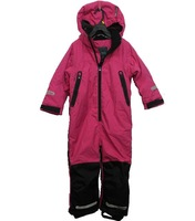 FREE SHIPPING Professional large one piece ski suit outdoor jacket romper female child 110