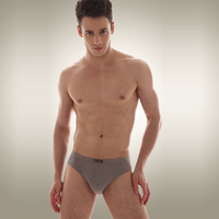 2013 New Arrival Men's 100%Cotton Solid Underwear  Soft  4 Pieces a Lot  Free Shipping NNS028