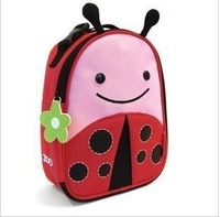 Free shipping ,beetle ladybug Zoo  lunch bag multi-function lunch bag  baby love keep warm animals lunch handbag for children