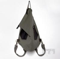 2013 Korean version of the influx of male fashion multifunctional bag canvas bag shoulder bag backpack schoolbag shoulder bag