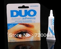 FreeShipping!!!NEW WATER PROOF EYELASH ADHESIVE EYELASH GLUE CLEAR 9g(1pcs/lot)