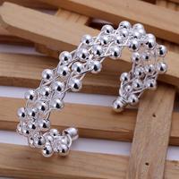 Factory Price! Free shipping silver Bracelet bangle.fashion jewelry jewellry  SPCB022