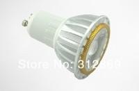 [Seven Neon]Free DHL express shipping 150pcs high quality GU10 E27 MR16 3W COB warm white/white led spotlight,3W COB spotlight