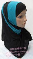 block decoration crystal hemp twinset basic cap two sides women muslim hijab hat