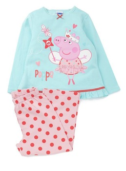 5pcs Free Shipping 2013 Autumn Winter Baby Clothing Kid Sleepwear Pajamas Baby Kids Pajamas Baby Peppa pig girl boy