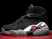 free shipping J8 2013 men's basketball sheos playoff black red 100% authentic 305381-061