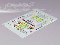 Stm-racing HONDA HSV DECAL SHEET  PC201018B-3  1:10 eletronic touring car