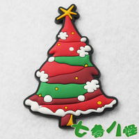 Refrigerator stickers magnets cartoon magnet beautiful christmas tree 50PCS/Lot