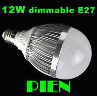 Dimmable globe led bulb 110V 12W E27 bubble light 220V bombillas Commercial Indoor fixture lamp Super Bright by DHL 10pcs/lot