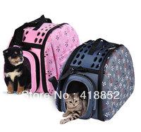 ihomesport EVA Folding Pet Carrier Dog Cat Travel Cage Bag Portable 3 sizes