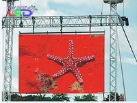 P10 full color outdoor led display board for advertising rental,latest P10 led display price