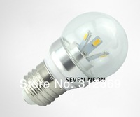 [Seven Neon]Free DHL express shipping 150pcs high quality E27 5630 3W 85-265V white/warm white led bulb light,led bulb lamp