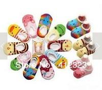 cheapest wholesell Baby Kids children Anti-Slip cartoon Socks Shoes Cute Unisex cotton 6-24 Months Slipper socks