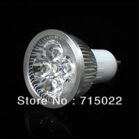 GU10 5W LED Spot Light Bulbs Lamp White/Warm white 5X1W High Brightness 85-265V Free Shipping