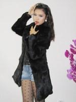 Showme fur 2011 hot-selling medium-long fur rabbit fur clothes stand collar 0546
