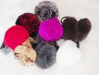 Rex rabbit hair earmuffs fur ultra soft thermal winter earmuffs real fur ear package