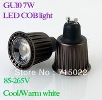 New GU10 7W COB LED Spot Light Bulbs Lamp Cool White/Warm White High Brightness