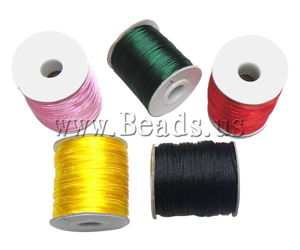 Free shipping!!!Nylon Cord,Wedding, mixed colors, 1mm, 10PCs/Lot, Sold By Lot(China (Mainland))