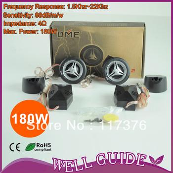 Free shipping!!high efficiency 2XPower dome 40mm tweeter speaker/car audio speakers hertz/car speaker/180W/SP-12