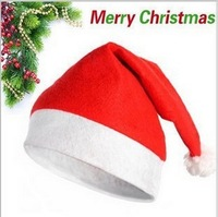Hot Wholesale 28*30cm Christmas costumes Christmas Hats for Christmas Day Free shipping