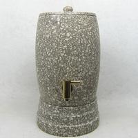 Natural water dispenser bucket stone fountain