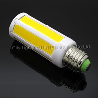 9W 1000LM  E27/E14/B24 7-Integrated-chips(=108 led) COB SMD LED Corn Bulb Ligh 220V/110V ultra bright led lighting Lamp CE/ROHS