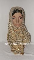 Shinning Sequin style Women's scarf Shawl Wraps Poncho wrap