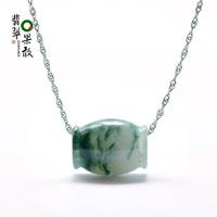 K61R bold emerald jade A cargo of natural jade pendant Passepartout Passepartout transfer beads pendants YL female