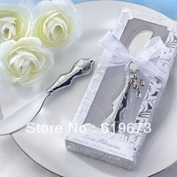 """""""Love Blossoms"""" Stainless-Steel Spreader wedding favors and gifts (set of 100 pcs) with Wholesale FEDEX DHL UPS Free Shipping"""