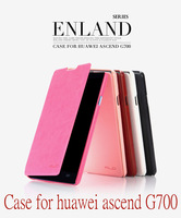Orginal Brand Kalaideng Luxury Leather Flip Case Cover For HuaWei Ascend G700 /Enland Series Cover Free shipping