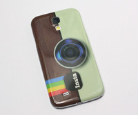Insta Instagram Camera Pattern Hard Cover Case For Samsung Galaxy S4 S IV i9500