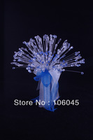 HK Post Free shipping new acrylic crystal girl flower wedding bouquet bridal faux pearl stunning bead sparking