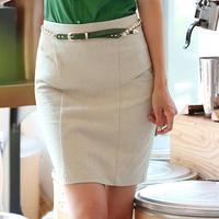 2013 spring and summer vintage mid waist skirt elastic slim hip slim dress professional skirt bust skirt step skirt female