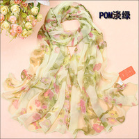 HOT SELLING! 2013 spring and summer Women chiffon long silk scarf long PASHMINA SCARF WRAP SHAWL BEST GIFT FOR GIRLS FREESHIPING