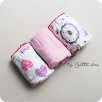 Free shipping Cotton element child cotton panties 3 q807