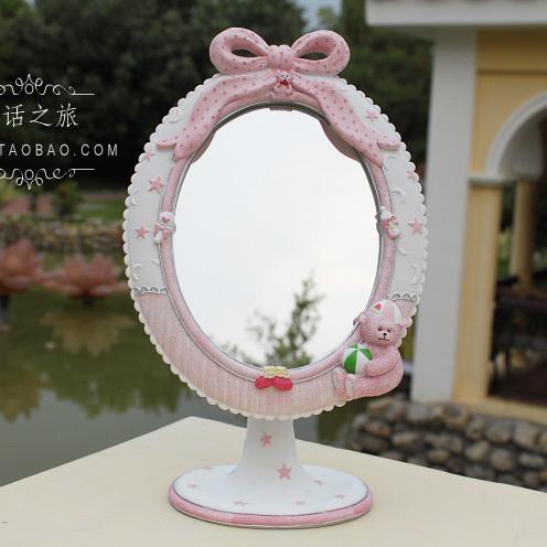 Online kopen wholesale roze kaptafel spiegel uit china roze kaptafel spiegel groothandel - Tafel roze kind ...