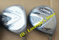 JPX 800 Golf Fairway Woods #3#5 With Graphite R Shaft+Head Covers Golf Clubs