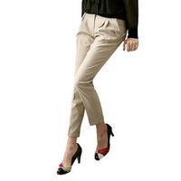2013 women's slim ankle length trousers
