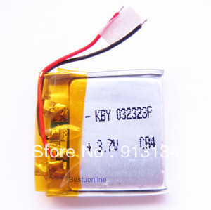 100psc -New 3 7V 120mAh Lithium Polymer LiPo Rechargeable Battery for MP3 MP4 GPS 032323- mobile phone tablet MID battery replac