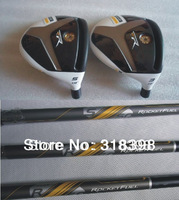 Rbladez Stage 2 Golf Fairway Woods #3#5 With Rocketfuel Graphite R Shaft+Golf Clubs Head Covers