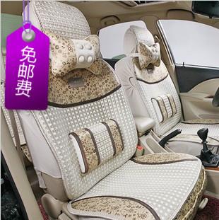Viscose car seat summer car seat cushion four seasons general viscose upholstery