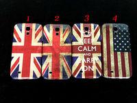 For Samsung Galaxy S4 S IV i9500 Retro UK USA National Flag Hard Cover Case