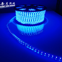 LED Strip SMD Flexible light Led strip smd led with 3528 waterproof tv background light lamp 220v60 beads bright