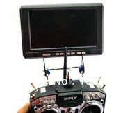 Free Shipping  W/ tracking number FPV Monitor Mount Holder Display Support Folding 2.5MM Carbon Fiber