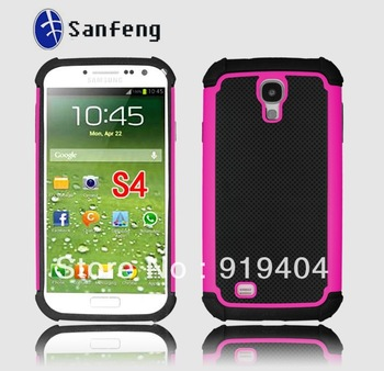 500pcs/lot Triad S4 monternet portal Case For Samsung I9500 Galaxy S IV