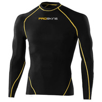 Pro skins long-sleeve ride service compression tights elastic fast drying clothing fitness clothing running