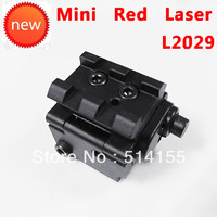 Wholeasale L2029 NEW MINI Red Dot Sight Laser Sight  With Detachable Picatinny Rail for Pistol  Free shipping 12/pcs