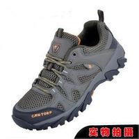 camel  Male breathable  hiking shoes outdoor sports shoes off-road 602